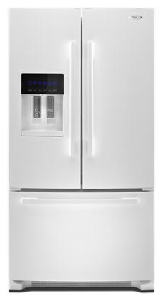 "Whirlpool GI6FARXXQ Freestanding French Door 25.5 cu. ft. No 35.625"" French Door Refrigerator 