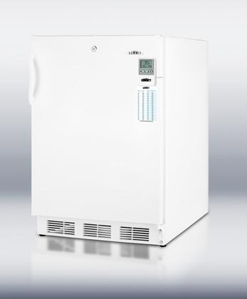 Summit FF6L7BIMEDADALHD MEDADA Series White Compact Refrigerator with 5.5 cu. ft. Capacity