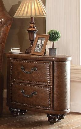 Acme Furniture 25163 Varada Crescent Series Oval Wood Night Stand
