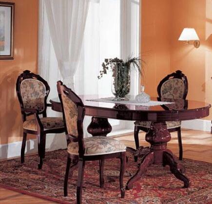 VIG Furniture VGFMREGINADTMHG7PCSET Regina Dining Room Table