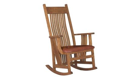 Chelsea Home Furniture 313004AUTUMN  Wood Frame Fabric Rocking Chair