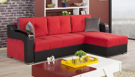 Truva Red Sectional