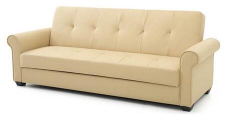 Glory Furniture G161S Buxton Series Convertible Faux Leather Sofa