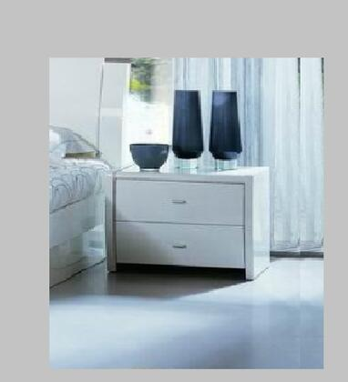 VIG Furniture PALERMONSWHT Palermo Series  Wood Night Stand