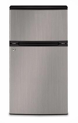 Golden GRD31GLBS Freestanding Top Freezer Refrigerator |Appliances Connection