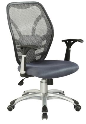 "Chintaly 4220CCH 24.8"" Adjustable Contemporary Office Chair"