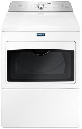 Maytag MxDB765FW Large Capacity Dryer With Intellidry Sensor, 7.4 cu. ft. Capacity, Digital Electronic Display, 22000 Heating BTU, Electronic Touch Controls, in White