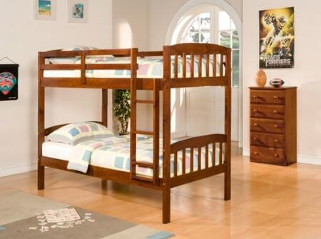 Donco 0102ETT  Twin Size Bunk Bed