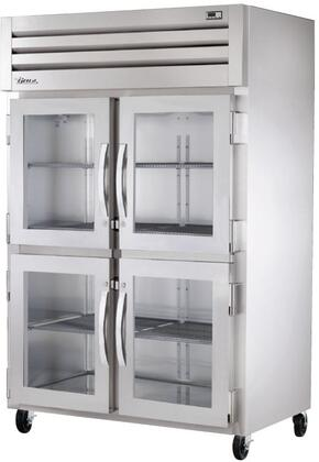 True STA2H-4 Spec Series Two-Section Reach-In Heated Holding Cabinet with 56 Cu. Ft. Capacity, External Temperature Display, and Half Swing-Doors
