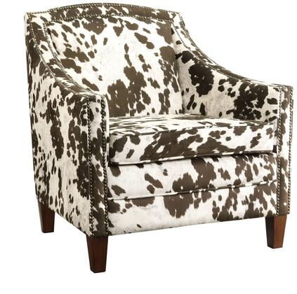 Coaster 902134 Accent Seating Series Armchair Fabric Wood Frame Accent Chair