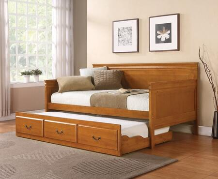 Coaster 300036OAK Louis Philippe Series  Twin Size Daybed Bed