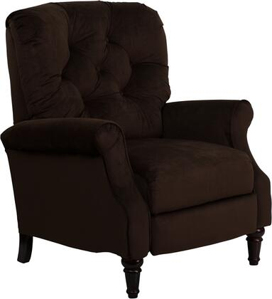 Flash Furniture AM26506800GG Traditional Reflections Series Traditional Microfiber Wood Frame  Recliners