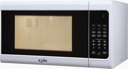 Golden GM11W Countertop Microwave, in White