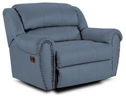 Lane Furniture 21414189565 Summerlin Series Transitional Fabric Wood Frame  Recliners