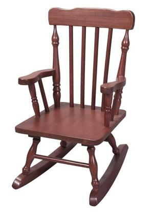 Gift Mark 3100 X Child's Solid Wood Hand Crafted Colonial Spindle Rocking Chair in