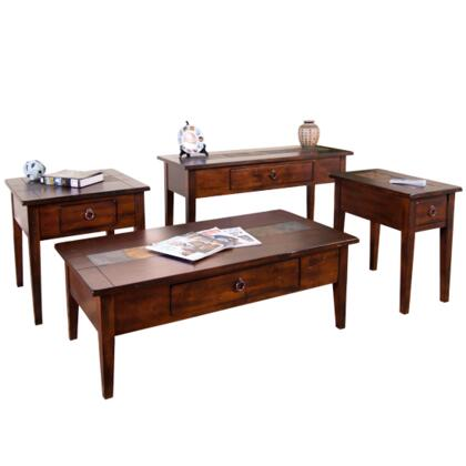 Sunny Designs 3176DCCKIT1 Santa Fe Living Room Table Sets