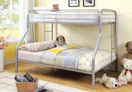 Furniture of America CMBK1033SVBED Rainbow Series  Bed