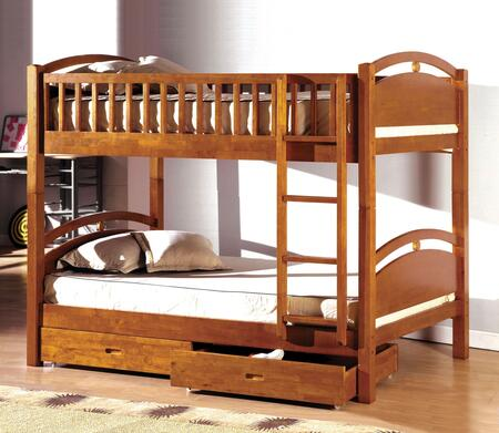 Furniture of America CMBK600ABED California I Series  Twin Size Bed