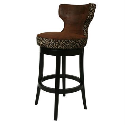 Pastel Furniture QLAE225 Augusta Bar Height Swivel Barstool
