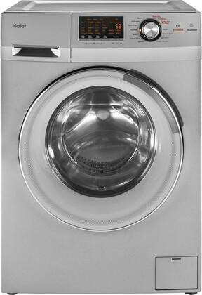 "Haier HLC1700AXX 24"" Front Load Washer/Dryer Combo 2.0 cu. ft. Capacity, Non-Vented Condensing Drying"