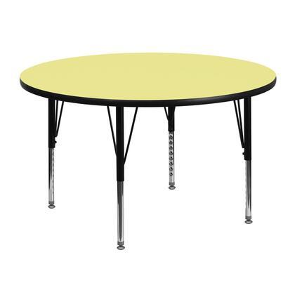 Flash Furniture XUA48RNDYELTPGG