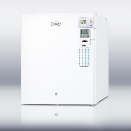 "Summit FS22LMEDSC18"" Medical Series Freestanding Upright Freezer"