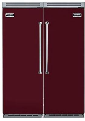 Viking 733620 Side-By-Side Refrigerators