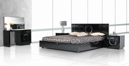 VIG Furniture VGUNAW223180BLKQN A & X Ovidius Queen Bedroom