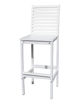 Vifah V1356  Wood Frame  Patio Side Chair