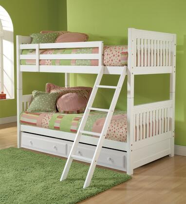 Hillsdale Furniture 1528BBT Lauren Series  Twin Size Bunk Bed