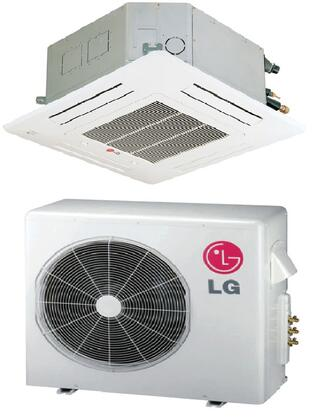 LG LC426HVKIT Mini Split Air Conditioner Cooling Area,