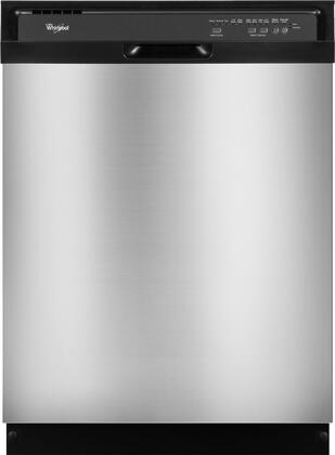 """Whirlpool WDF510PAYS 24"""" Built-In Full Console Dishwasher"""