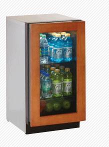 "U-Line 3018RGLOL01 3.6 cu. ft. Capacity 18"" Modular 3000 Series Built In Compact Beverage Center"