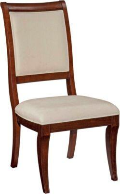 Broyhill 4310585 Nouvelle Series Casual Fabric Wood Frame Dining Room Chair
