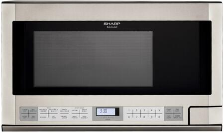 Sharp R1214T Over the Counter Microwave Oven