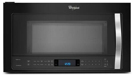 "Whirlpool WMH76719C 30"" Over the Range Combination Range Hood Microwave with 1.9 cu. ft., 1100 Cooking Watts, 4 Speed 400 CFM Fan, TimeSavor Plus True Convection and AccuPop Cycle in"