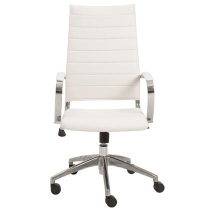 "Euro Style 00476GRY 22.75"" Modern Office Chair"