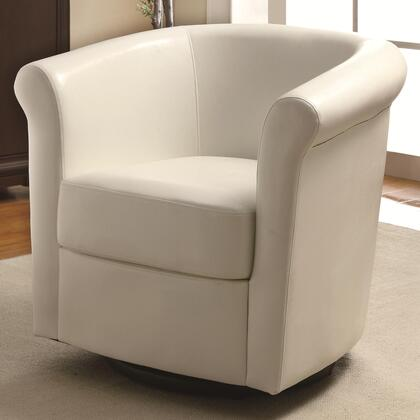 Coaster 902087 Accent Seating Series Vinyl Wood Frame Accent Chair