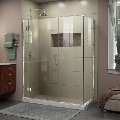 DreamLine Unidoor X Shower Enclosure 6HP 30D 22IP 30RP 01