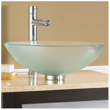 American Standard Dorian Glass Vessel Bathroom Sink 0978.000