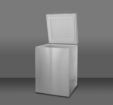 Summit SCF401SS Freestanding Chest Counter Depth Freezer