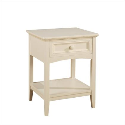 Powell 361028 Parker Series  Wood Night Stand
