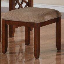 Standard Furniture 23444 Woodmont Series Armless Fabric Wood Frame Accent Chair
