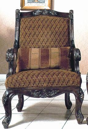 Yuan Tai NA1033A Natalie Series Fabric Chair with Wood Frame