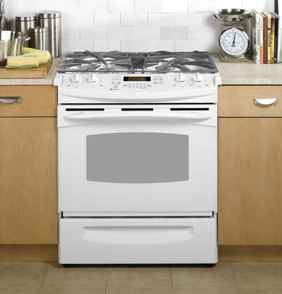 GE PGS908DEPWW Slide-in Gas Range