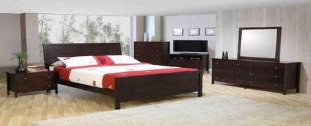 Accent HA871389 City Lights Series Tropical Hardwood & Veneers Dresser