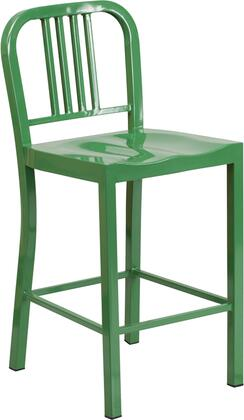 Flash Furniture CH3120024GNGG Residential Not Upholstered Bar Stool