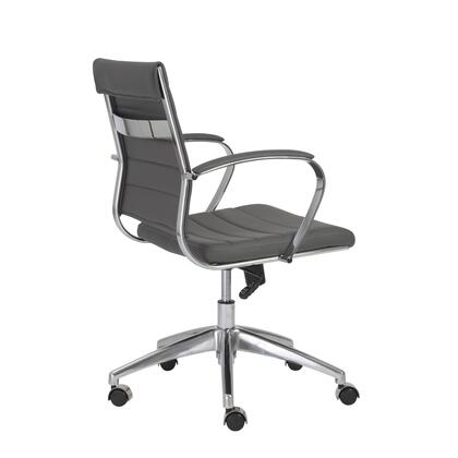 "Euro Style 00477GRY 22.75"" Modern Office Chair"