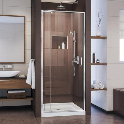 Flex Shower Door Chrome