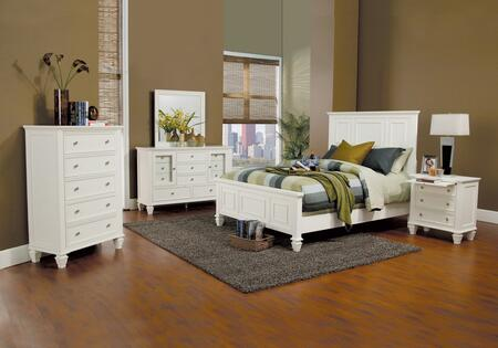 Coaster 201301QDMCN Sandy Beach Queen Bedroom Sets
